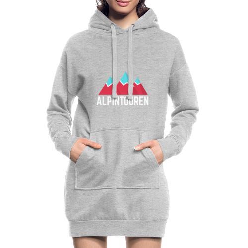 Alpintouren Logo - Hoodie-Kleid