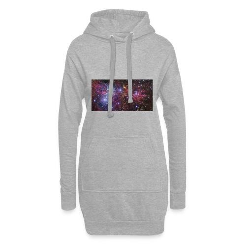 Stjernerummet Mullepose - Hoodie-kjole