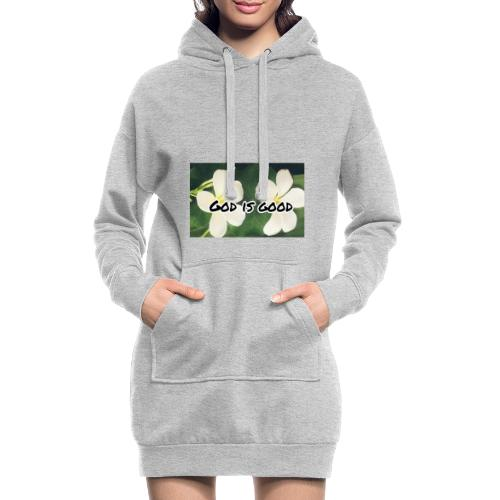 God is good - Hoodie Dress