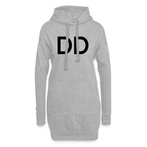 ddblack - Sudadera vestido con capucha