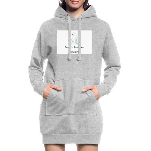 Sauver Les Ours Polaires - Sweat-shirt à capuche long Femme