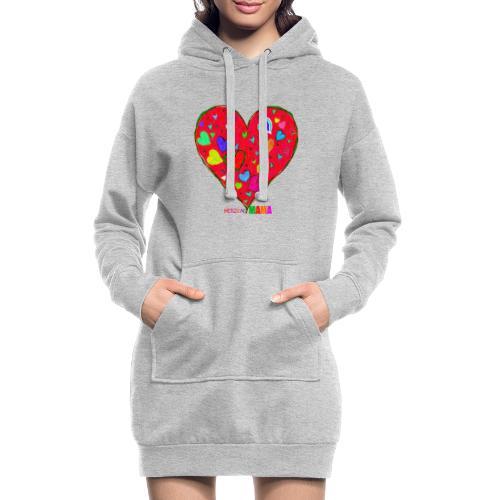 HerzensMama - Hoodie-Kleid