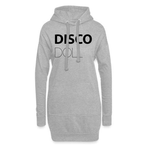 disco doll - Sweat-shirt à capuche long Femme