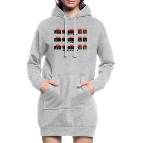 Back To The Future DeLorean Time Travel Console - Hoodie Dress