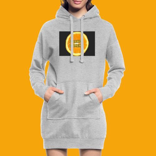 Orange_Logo_Black - Hoodie Dress