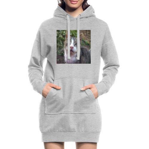 Katze Max - Hoodie-Kleid