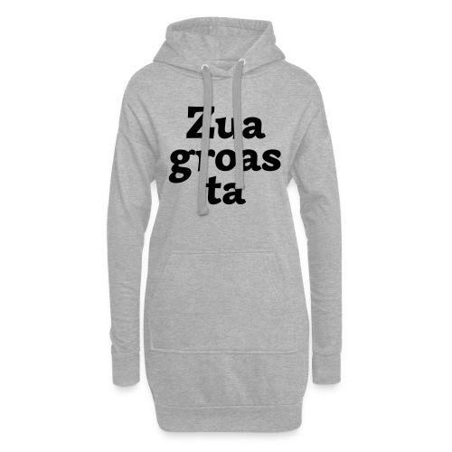 Zuagroasta - Hoodie-Kleid
