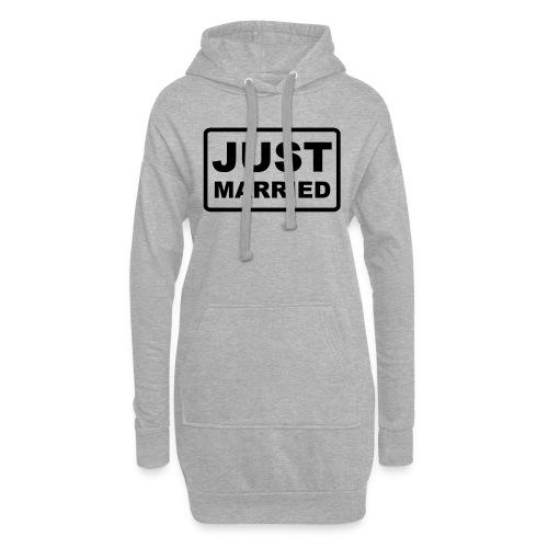 Just Married - Hoodie-Kleid