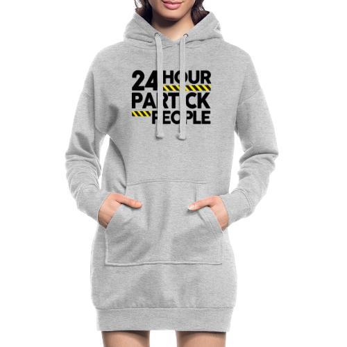 24 Hour Partick People - Hoodie Dress