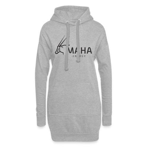 Maha_Logo - Hoodie-kjole