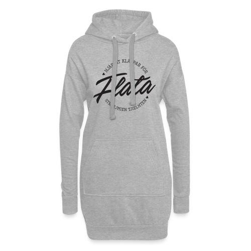 Hjärtat klappar för Flata - Luvklänning