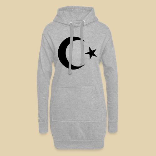Halbmond - Türkei - Hoodie-Kleid