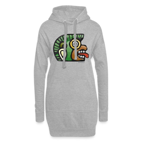 Aztec Icon Monkey - Hoodie Dress
