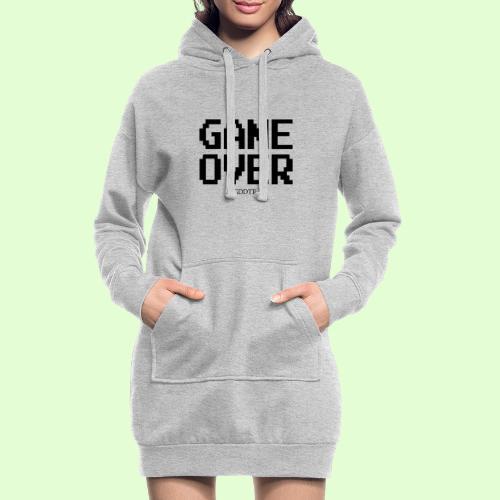 Game Over - Hoodie-Kleid