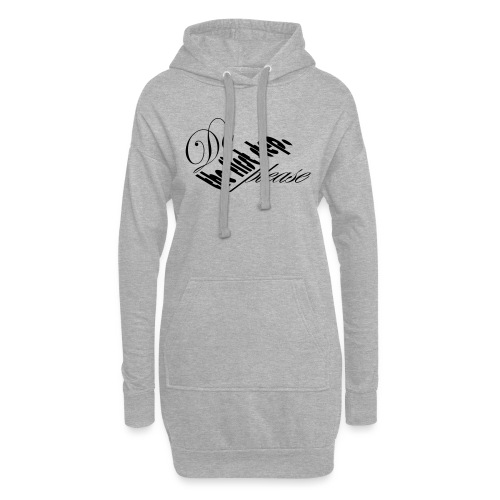 do the first step, please (21) - Hoodie-Kleid