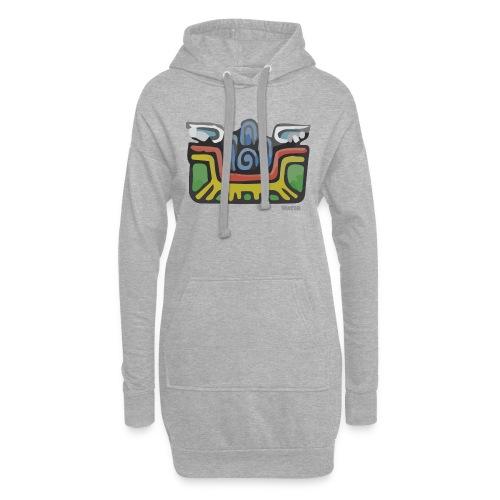Aztec Water - Hoodie Dress