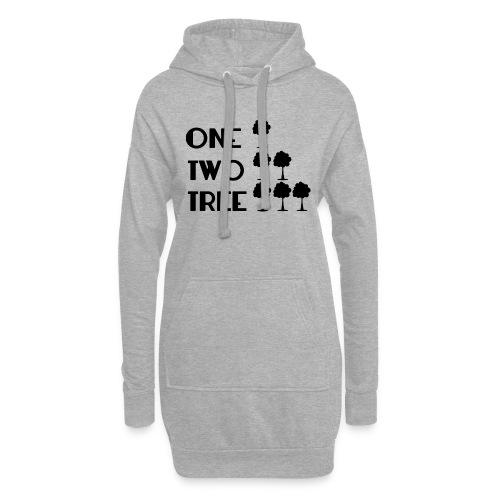 ONE-TWO-TREE-SF - Sudadera vestido con capucha