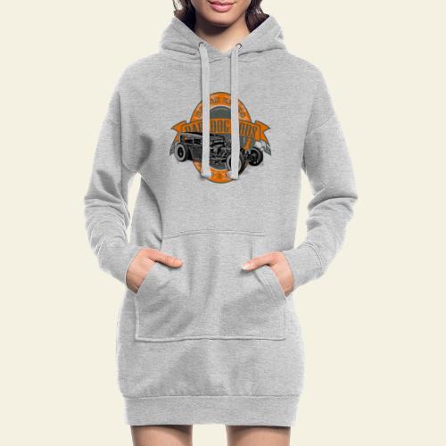 Raredog Rods Logo - Hoodie-kjole
