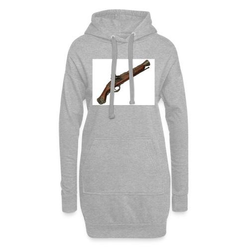 Pistola - Sudadera vestido con capucha