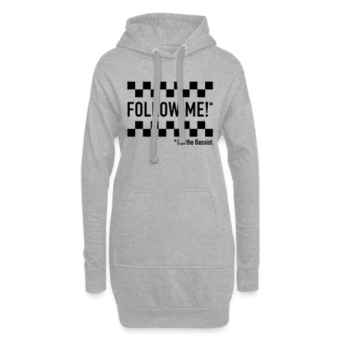 Follow the Bassist! - Hoodie-Kleid