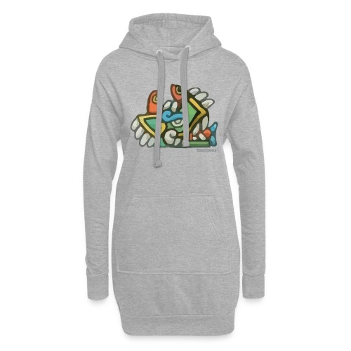 Aztec Crocodile - Hoodie Dress