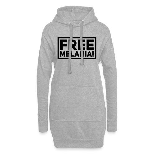 free melania! - Hoodie-Kleid