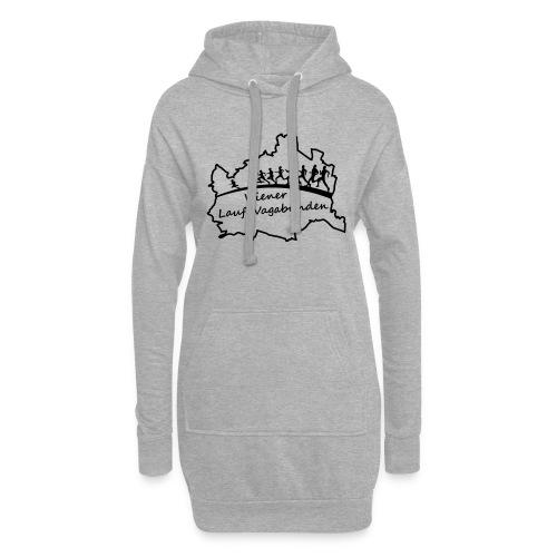 Laufvagabunden T Shirt - Hoodie-Kleid