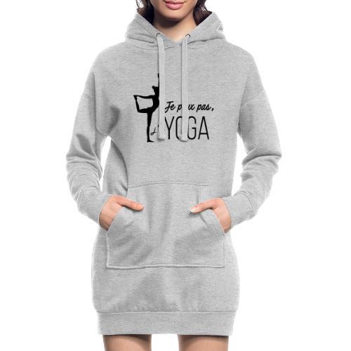 Je peux pas j'ai Yoga (version femme) - Sweat-shirt à capuche long Femme