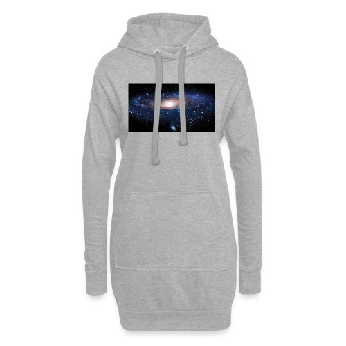 Galaxy - Sweat-shirt à capuche long Femme