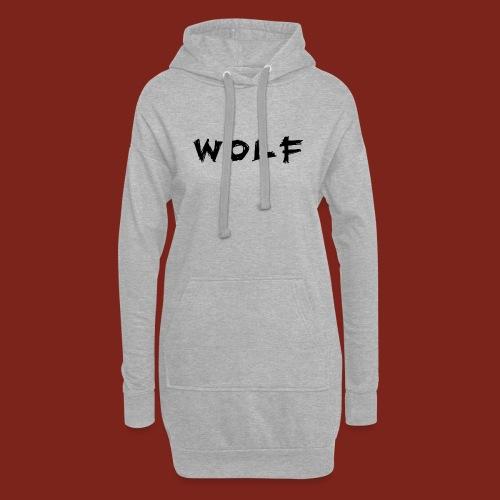 Wolf Font png - Hoodiejurk
