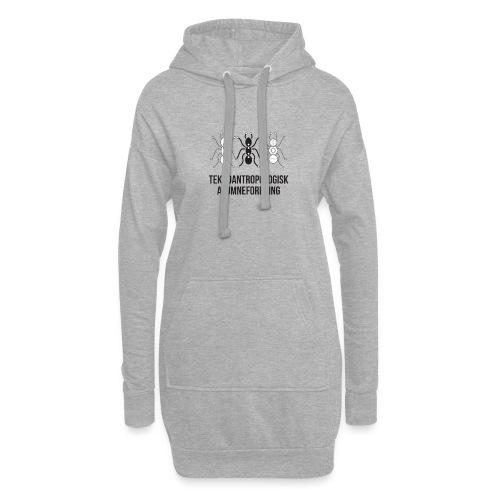 Teknoantropologisk Støtte T-shirt alm - Hoodie-kjole