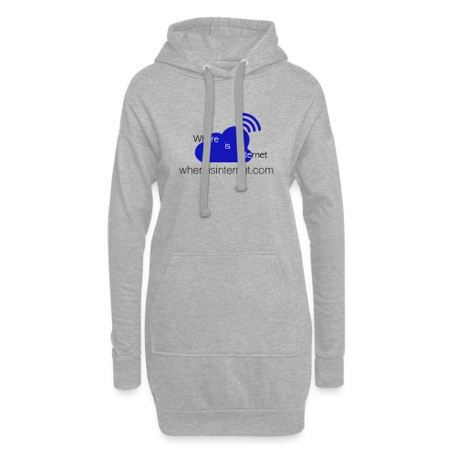 Where is the Internet - Hoodie Dress
