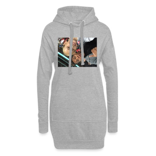 a pic with youtuber - Hoodie Dress