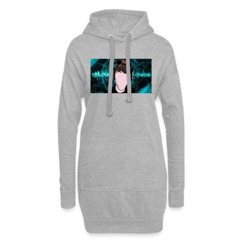 BlueDigit Sweatshirt - Hoodie Dress