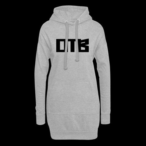 OTB Logo Black - Hoodie Dress