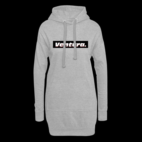 Ventura Black Logo - Hoodiejurk