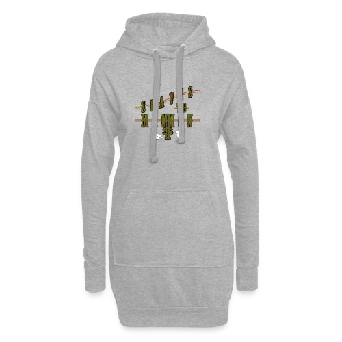Slaves To Mammon - Hoodie Dress