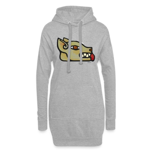 Aztec Icon Dog - Hoodie Dress