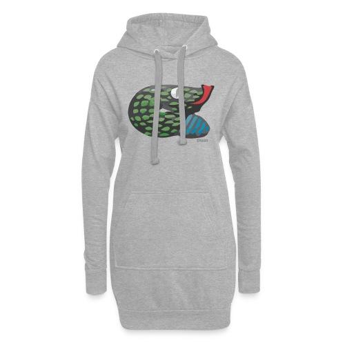 Aztec Snake - Hoodie Dress