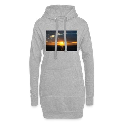 t-shirt zonsondergang - Hoodiejurk