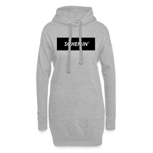 SCHEMIN' Black/White colour way - Hoodie Dress
