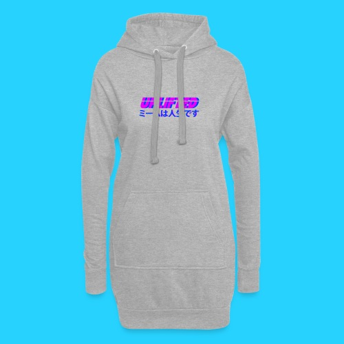Uplifted with japanese lettering - Hoodie Dress