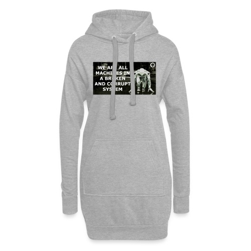 BROKEN MACHINES COLLECTION BY SYSTEM MACHINE - Hoodie Dress