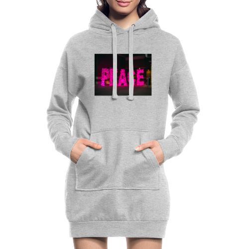 paz - Sudadera vestido con capucha