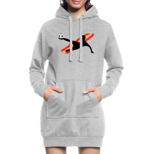 futbol españa - seleccion - jugador de futbol - Sudadera vestido con capucha