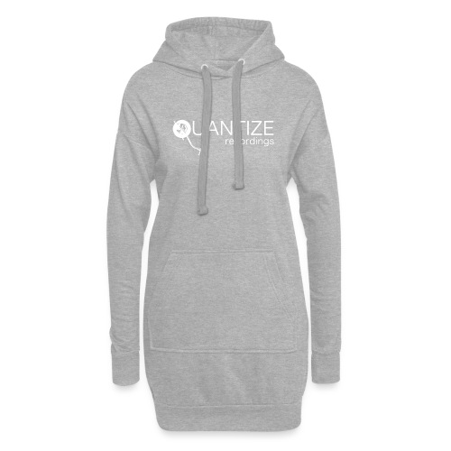 Quantize White Logo - Hoodie Dress