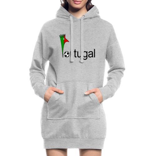 Galoloco Portugal 1 - Sweat-shirt à capuche long Femme