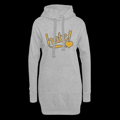 hate ! - Sweat-shirt à capuche long Femme