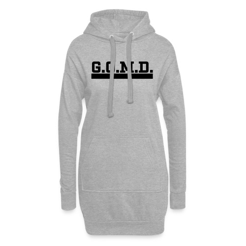 G.O.M.D. Shirt - Hoodie-Kleid