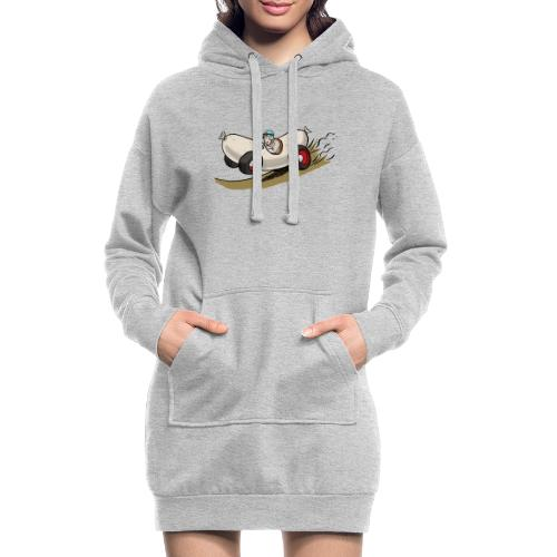 Weißwurstrenner - Hoodie-Kleid